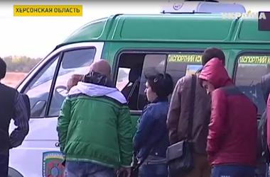 На административной границе Херсонской области с Крымом  усиливают оборону