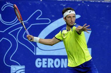 Стаховский пробился в четвертьфинал теннисного челленджера в Орлеане