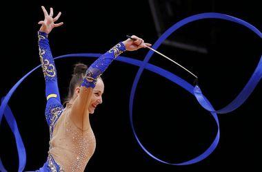 Сборная Украины стала третьей в командном зачете ЧМ по художественной гимнастике