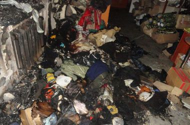В Мариуполе подожгли офис волонтеров, помогавших армии