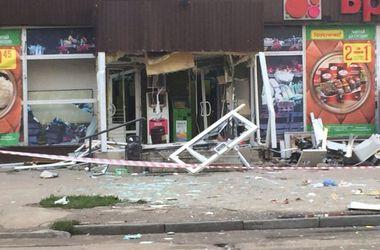 В Харькове неизвестные взорвали банкомат и похитили около 200 000 гривен