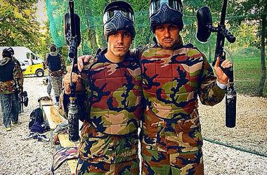 Милевский в Хорватии решил поиграть в войну