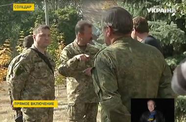 Украинские и российские военные начали договариваться о прекращении огня и создании буферной зоны