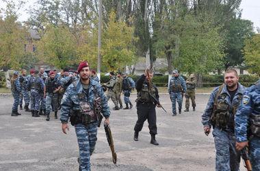 Правоохранители николаевского гарнизона милиции отправились на восток