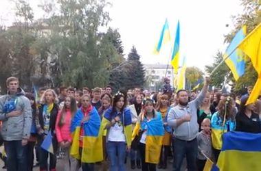 Краматорск патриотично отметили День города