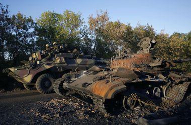 Силы АТО уничтожили три вражеских танка – СНБО