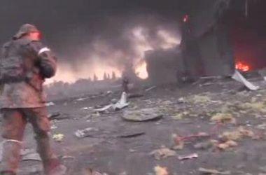 Как горел Донецкий аэропорт