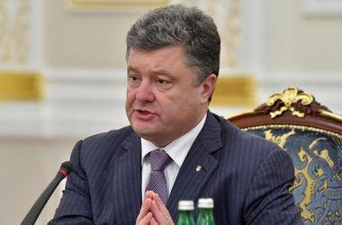 Порошенко считает, что половина инфраструктуры Донбасса уничтожена