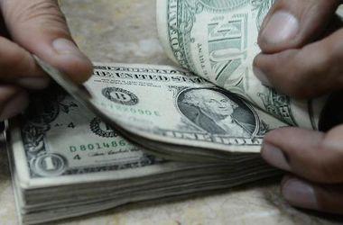 Курс доллара немного понизился