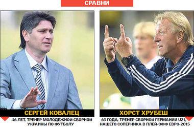 Сравниваем тренеров молодежных сборных Украины и Германии – соперников в плей-офф Евро-2015