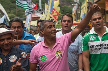 Знаменитый футболист Ромарио избран в Сенат Бразилии