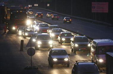 Где в Киеве возникают самые большие пробки