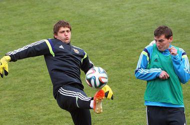 Как молодежная сборная Украины готовится к матчу с Германией
