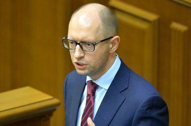 Яценюк заявляет о сокращении количества контролирующих органов с 56 до 27