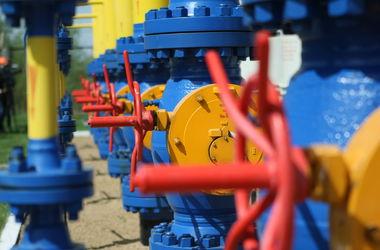 Количество газа в украинских хранилищах растет