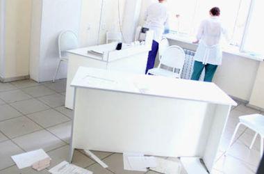 В Одесской области разгромили хирургическое отделение больницы