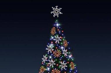 Как будет выглядеть новогодняя елка в Киеве