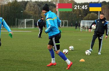 Онлайн матча Беларусь - Украина