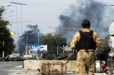 В Донецке гремят мощные взрывы