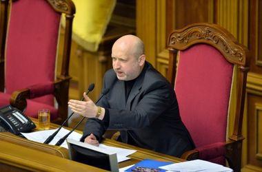 Турчинов призвал усилить санкции против России
