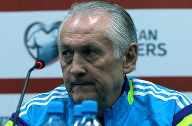 Тренер сборной Украины принес извинения сборной Люксембурга