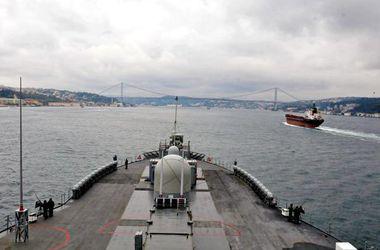 В Черное море вошел американский флагман