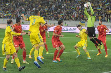 Сидорчук приносит победу Украине над Македонией в отборе Евро-2016