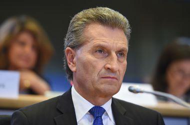 Еврокомиссар Эттингер собрался в Украину - Продан