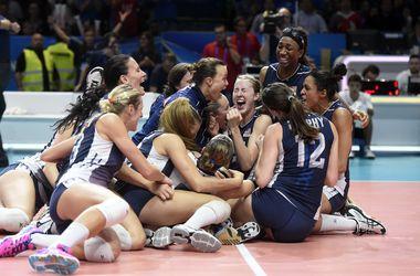 Сборная США впервые выиграла чемпионат мира по волейболу
