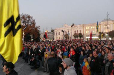 В Харькове сотни людей собрались на Марш УПА