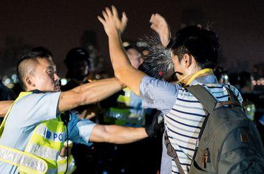 В Гонконге произошли новые столкновения полиции с демонстрантами