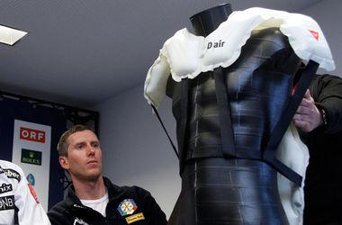 Горнолыжникам на Кубке мира разрешили надевать подушки безопасности