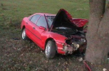 ДТП во Львовской области: иномарка влетела в дерево, двое погибших