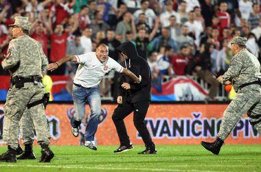 Сербская полиция помогла напасть на футболистов - тренер сборной Албании