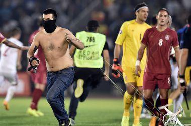 УЕФА открыл дело против Албании и Сербии по семи пунктам