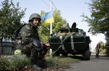 В зоне АТО за сутки погибли три бойца - СНБО