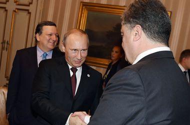 69_main Переговоры Порошенко и Путина завершились
