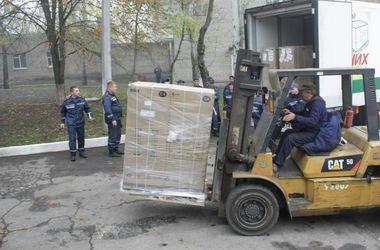 В Запорожье прибыли 8 машин с гуманитарной помощью из Германии