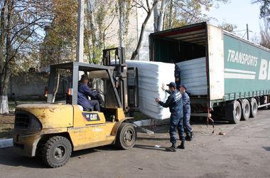 Из Германии в Запорожье прибыли 8 грузовиков с гуманитаркой