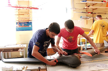 В Ивано-Франковске ученики создали беспилотник для АТО