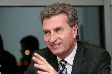 В понедельник в Киев приедет еврокомиссар по энергетике
