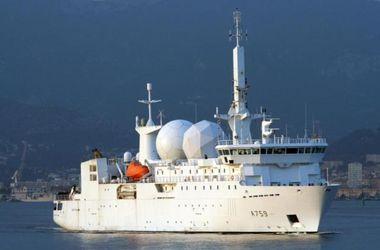 Французский разведывательный корабль вернулся в Черное море