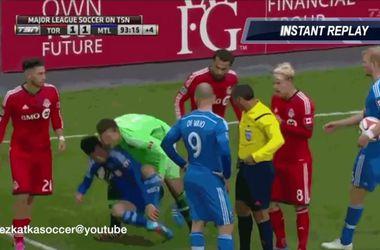 Канадский вратарь нашел способ бороться против симуляции в футболе