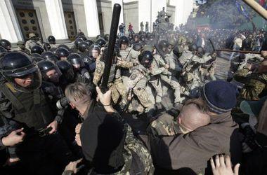 СБУ увидела российский след в организации беспорядков под Радой 14 октября