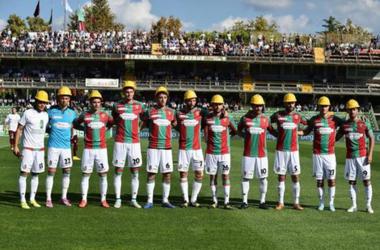 Футболисты итальянского клуба вышли на матч в касках