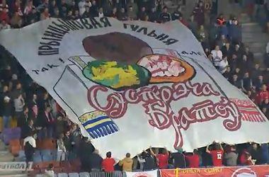 УЕФА может наказать сборную Украины за песни про Путина