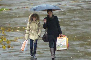 В Украину идут дожди и порывистый ветер