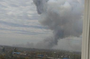 В Донецке раздаются залпы