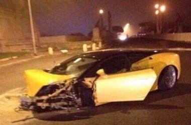 "Футболист ""Лацио"" разбил дорогостоящий Lamborghini"