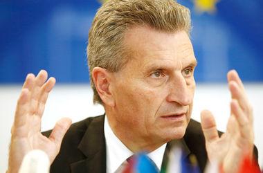 Эттингер объяснил, о чем пойдет речь на переговорах по газу между РФ и Украиной